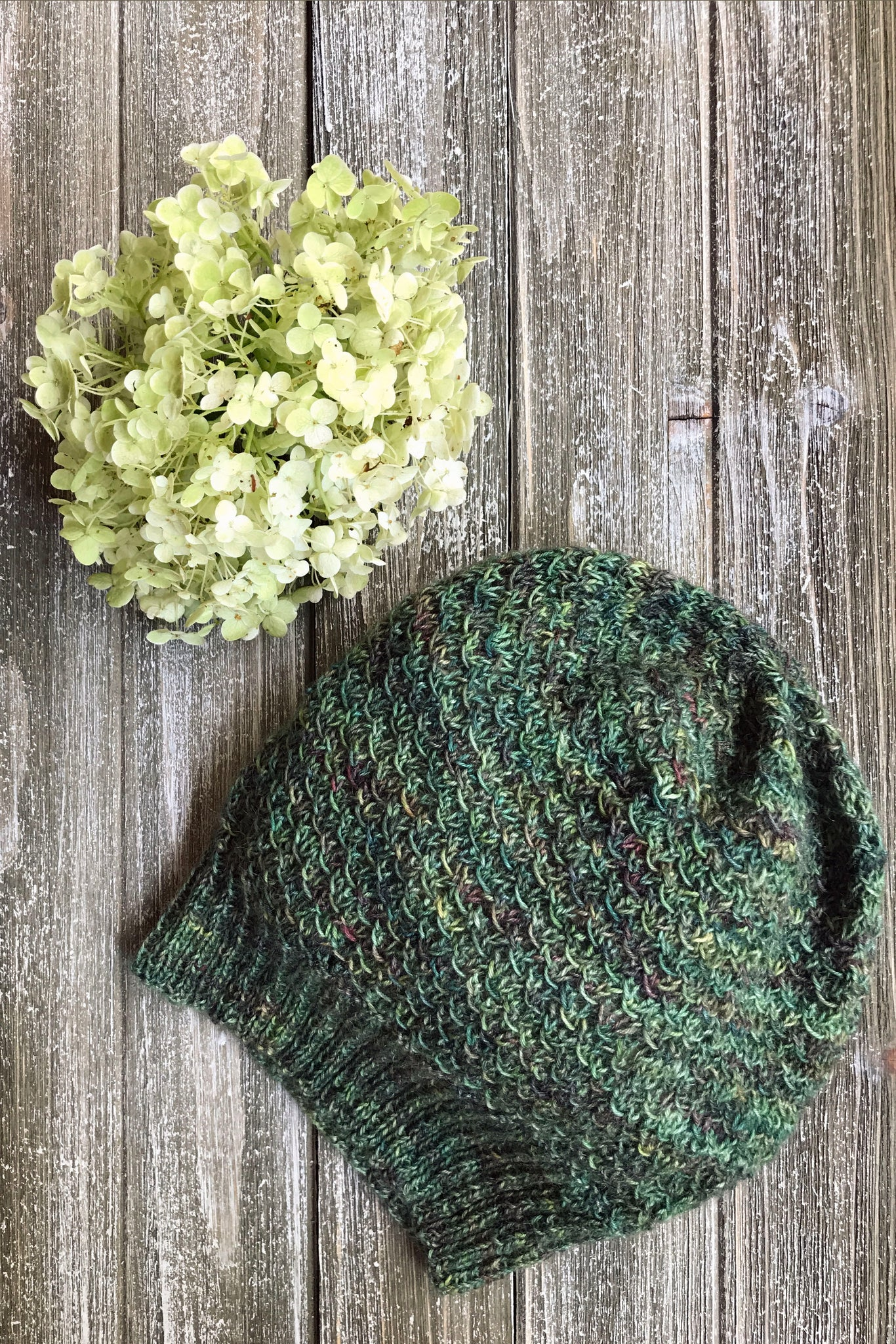 Knit Me yarn subscription box ancient arts yarn beanie hat pattern