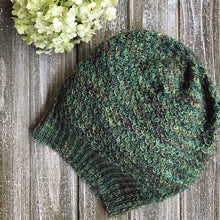 Load image into Gallery viewer, Knit Me yarn subscription box ancient arts yarn beanie hat pattern