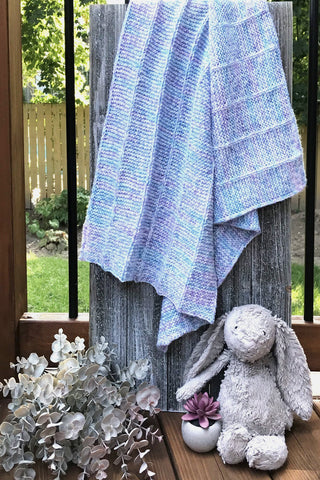 Knit Me Baby Blanket Kit