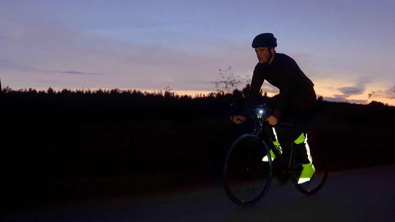 BIOMOTION - Designed by evolution, science & Fredrik. Safety focused rain clothing for road cycling.