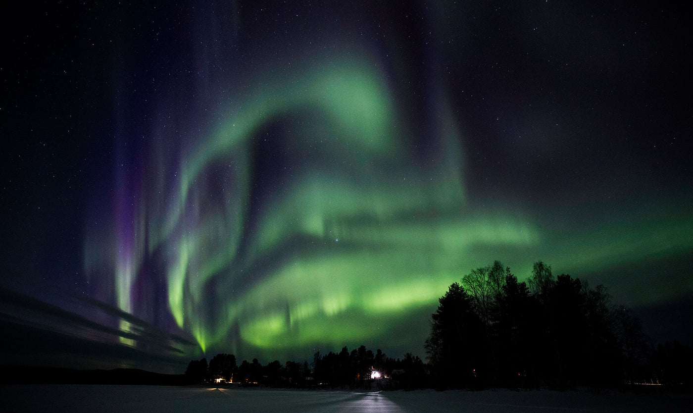 The Swirling Aurora and the Spirit of Adventure