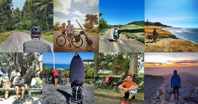 Cycling Inspiration - Fuerteventura in Spain  and all the way through New Zealand - By Bike!