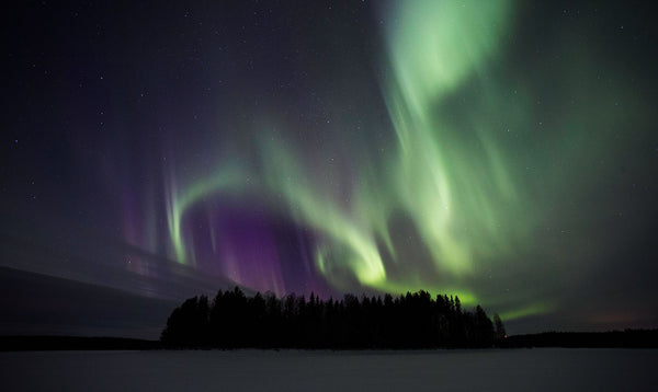 Northern lights, Aurora Borealis, Norrsken
