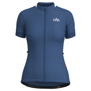 Sigr 'Blåklocka' Blue Cycling Jersey for Women