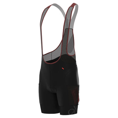 Sigr 'PRO Riksväg 92' with thigh pockets - Cycling Bib Shorts for Men