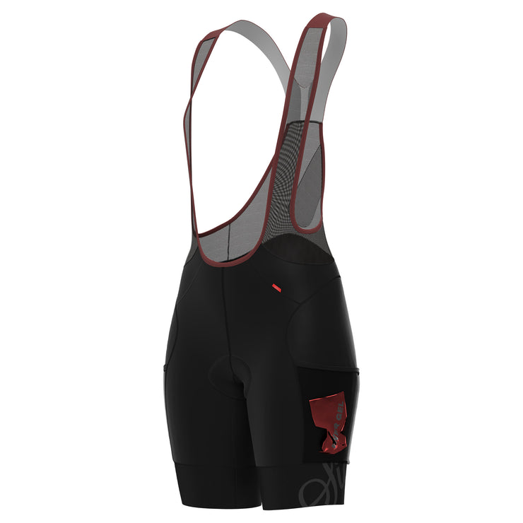 Sigr 'PRO Riksväg 92' with thigh pockets - Cycling Bib Shorts for Women