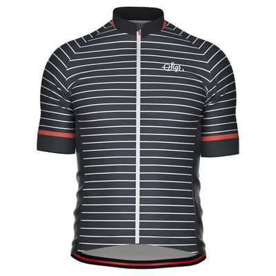 Sigr 'Black Horizon' Cycling Jersey for Men