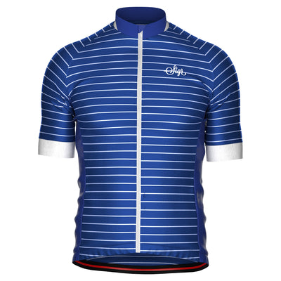 Sigr 'Blue Horizon' Cycling Jersey for Men