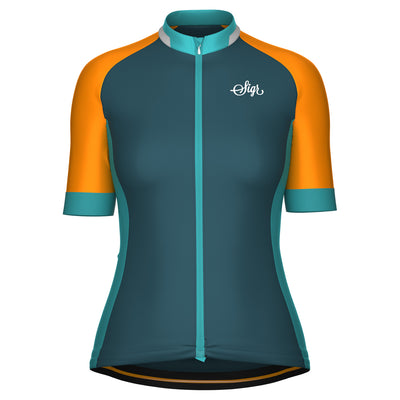'Team Sigr Descent' Cycling Jersey for Women