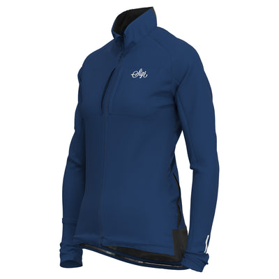 Sigr 'Gotlandsleden Tour' Blue Soft Shell Jacket for Women