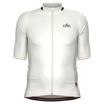 Sigr 'Hägg' White Cycling Jersey for men
