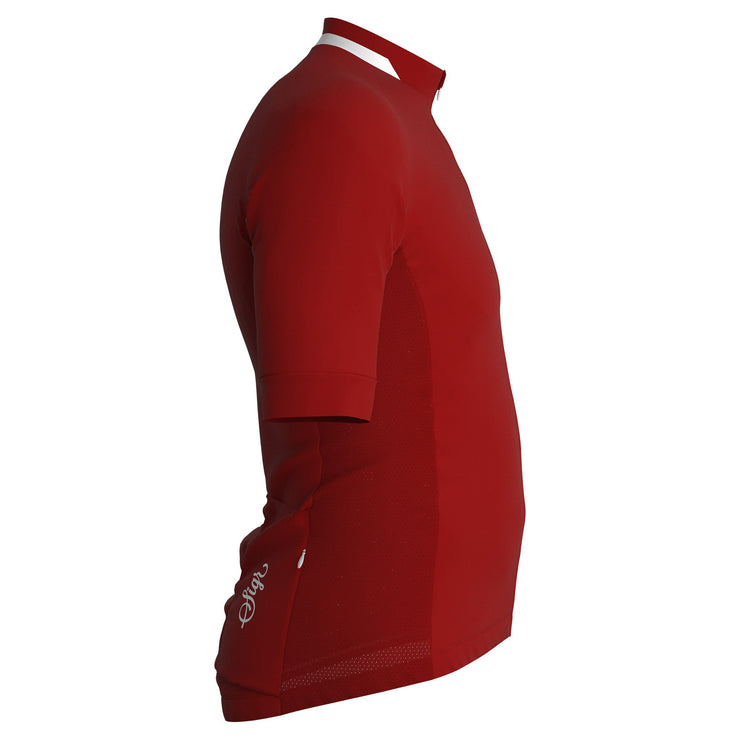 Sigr 'Nejlika' Red Cycling Jersey for Men