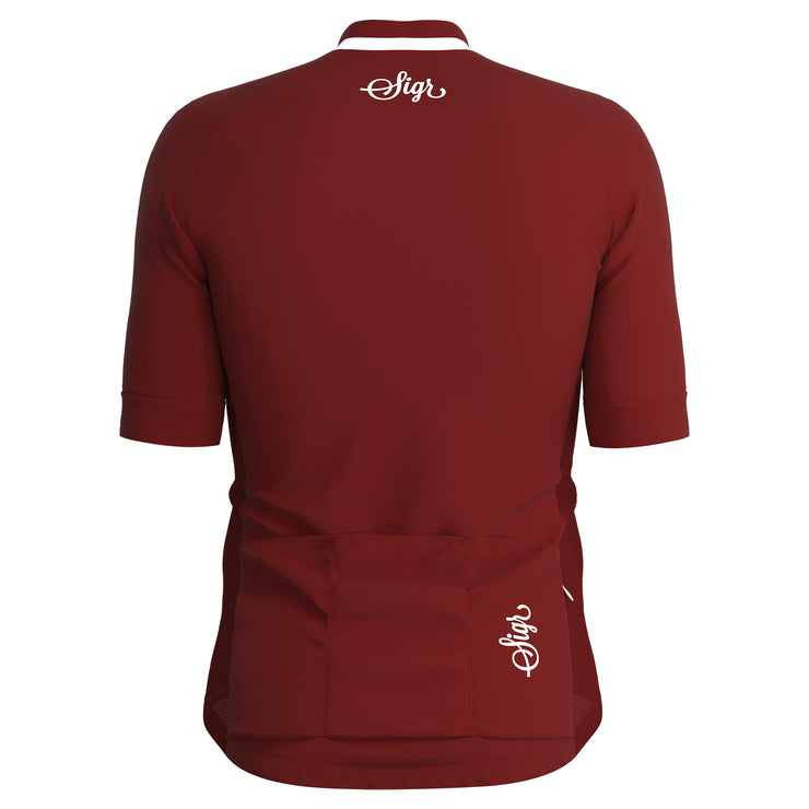Sigr 'Ros' Red Cycling Jersey in Red for Men
