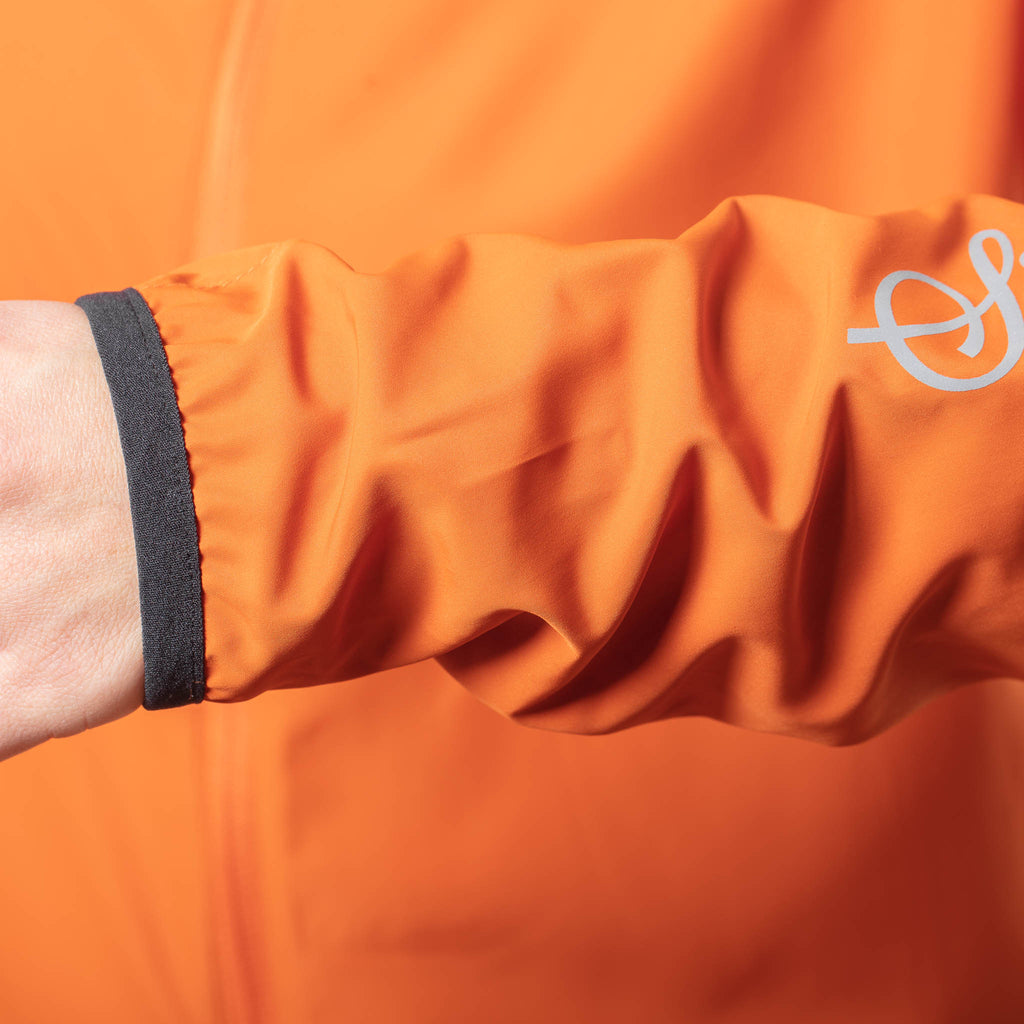 'Treriksröset Orange' Cycling Pack Jacket for Women