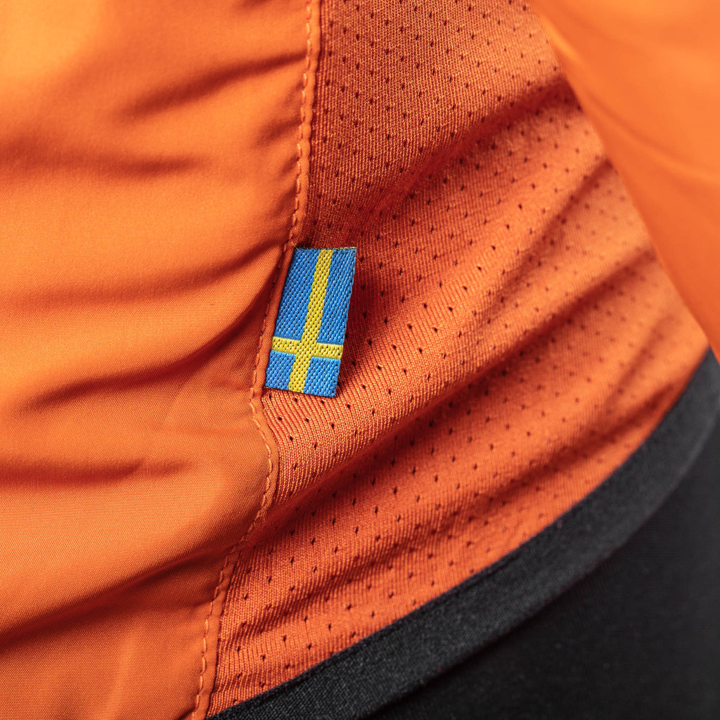 Sigr 'Treriksröset Orange' Cycling Pack Jacket for Women