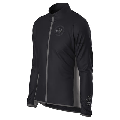 Sigr 'Uppsala Black' Cycling Wind Jacket for Men