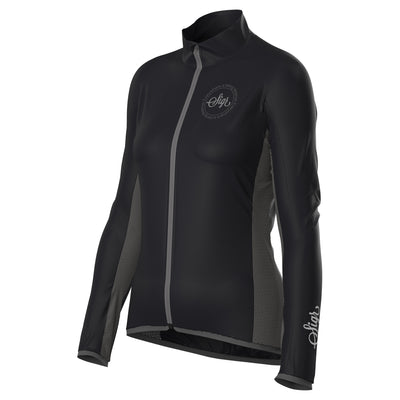 Sigr 'Uppsala Black' Cycling Wind Jacket for Women