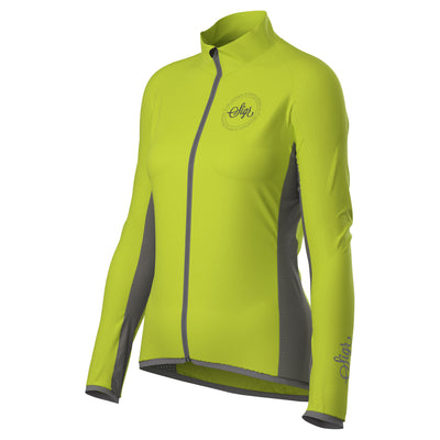 Sigr 'Uppsala Yellow' Hi-Viz Cycling Wind Jacket for Women