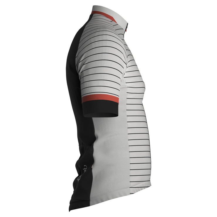 Sigr 'White Horizon' Cycling Jersey for Men