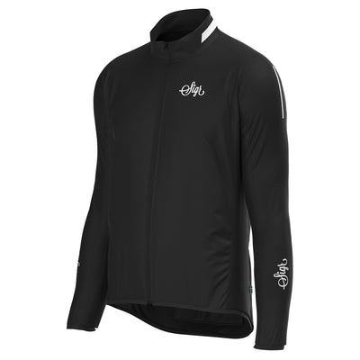 Sigr 'Treriksröset Black' Cycling Pack Jacket for Men