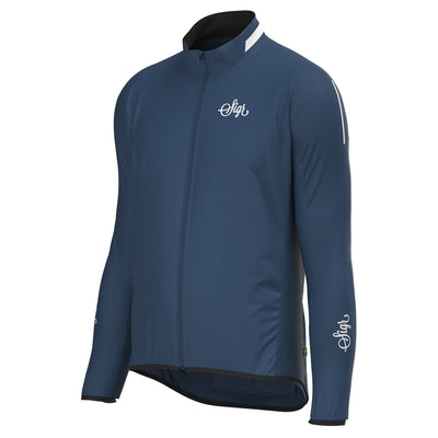 Sigr 'Treriksröset Blue' Cycling Pack Jacket for Men
