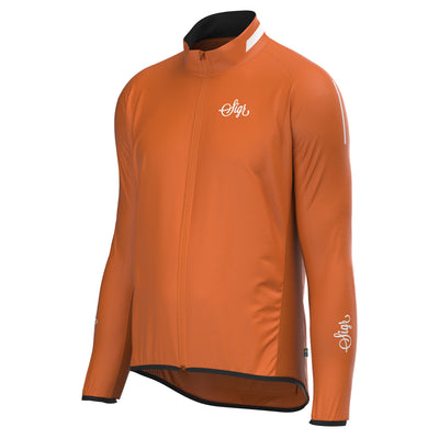 Sigr 'Treriksröset Orange' Cycling Pack Jacket for Men