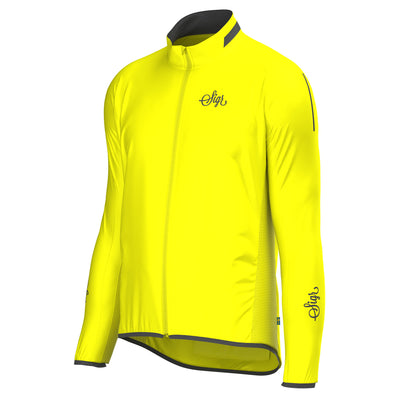 Sigr 'Treriksröset Yellow' Cycling Pack Jacket for Men