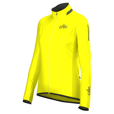 Sigr 'Treriksröset Yellow' Cycling Pack Jacket for Women