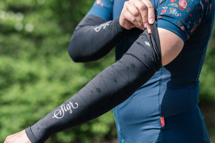 Sigr 'Norrsken' Cycling Arm Warmers, Unisex - PRO Series