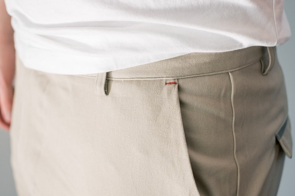 'Strandvägen' Cycling Chino Shorts for Men