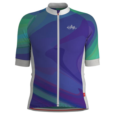 Sigr 'Dusk Wave' Cycling Jersey for Men