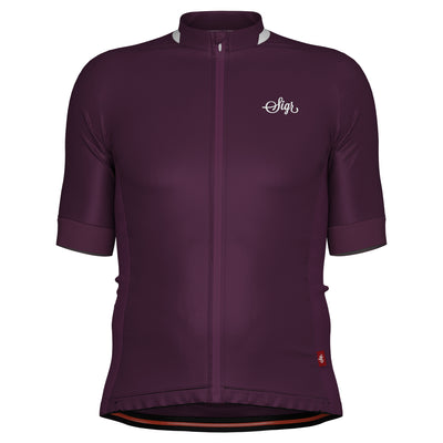 Sigr 'Lila Hortensia' Purple Cycling Jersey for Men