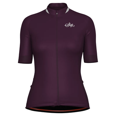 Sigr 'Lila Hortensia' Purple Cycling Jersey for Women