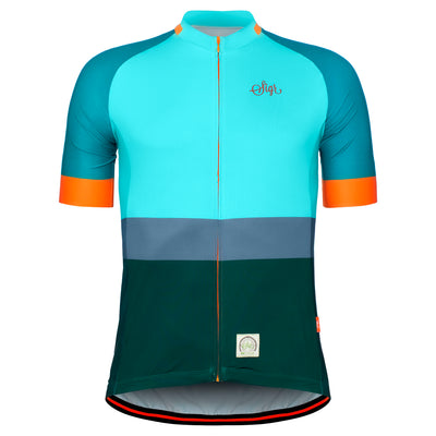 Sigr 'Ocean Recycle Dawn' Cycling Jersey for Men