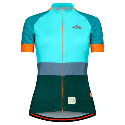 Sigr 'Ocean Recycle Dawn' Cycling Jersey for Women