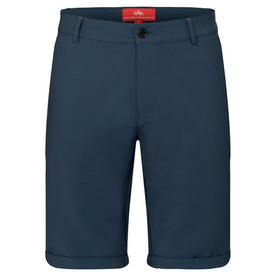 Sigr 'Strandvägen' Cycling Chino Shorts in Petrol Blue for Men