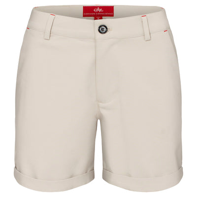 Sigr 'Strandvägen' Cycling Chino Shorts in khaki for Women