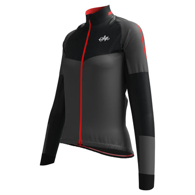 Sigr 'Västkusten' Black Road Cycling Rain Jacket for Women