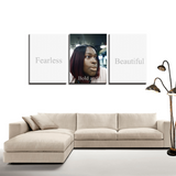 3 Panels Canvas Prints Wall Art