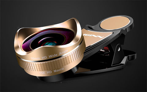 LIGINN Pro Universal 16mm Distortionless Super Wide angle Lens