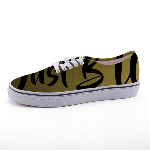 Low-top fashion canvas shoes (mustard yellow)