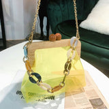 Clip Chain Shoulder Messenger Bags