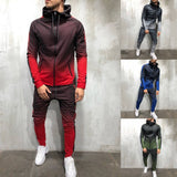 2 Piece Zipper Sweatsuit