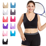 Plus size Bras for Breathable Seamless Bra
