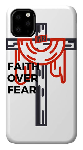 Faith over fear - Phone Case