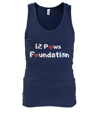 12 Paws Foundation Men's Tank Top