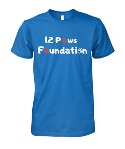 "12 Paws Foundation Unisex Cotton ""Supportee"""