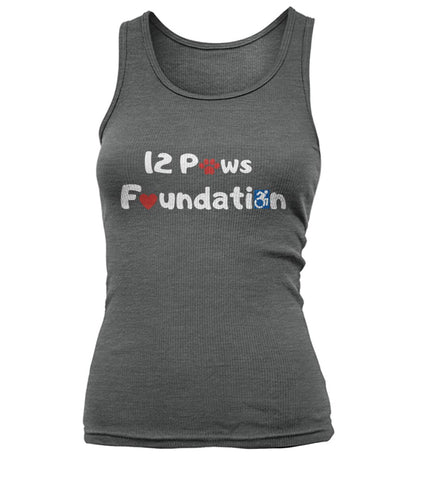 12 Paws Foundation Women's Tank Top Top