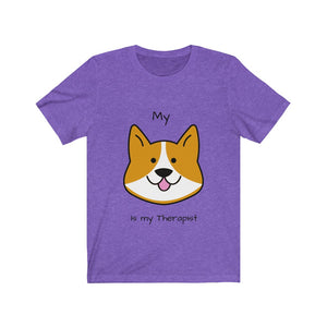 """My Dog is my Therapist "" Tee"