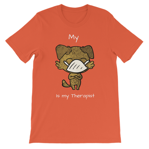 My ?? Is My Therapist (White) Classic Kids T-Shirt